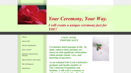 Your Ceremony, Your Way!