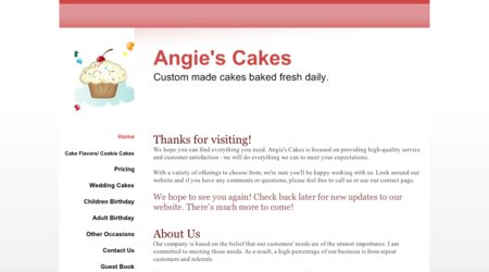 Angie's Cakes