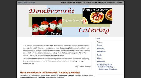 DOMBROWSKI CATERING