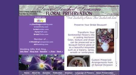 Twice Touched Treasures Floral Preservation