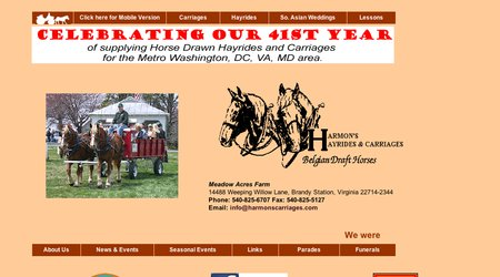 Harmon's Horse Drawn Carriages