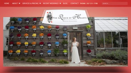 The Queen of Hearts Wedding Consultants