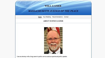 Will Luzier, Justice of the Peace