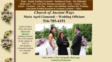 Church of Ancient Ways, Pastor Marie April Gismond