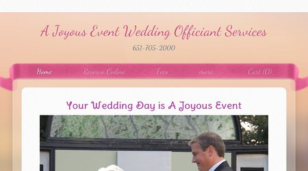 It's A Joyous Event Wedding Ceremonies