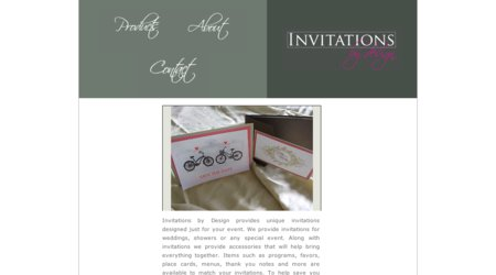 Invitations By Design, Inc.
