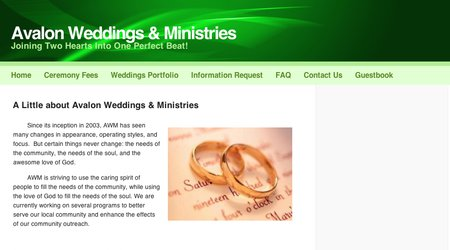 Avalon Weddings & Ministries