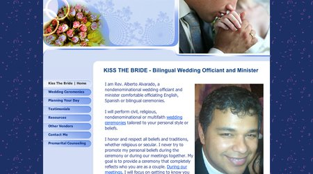 Kiss The Bride - Bilingual Wedding Officiant