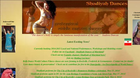 Belly Dance By Shadiyah