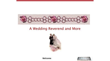 A Wedding Reverend And More