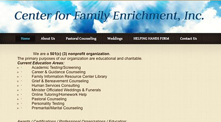 Center For Family Enrichment, Inc.