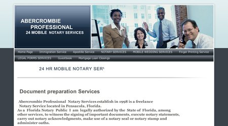 Abercrombie Professional Notary Services