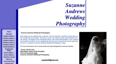 Suzanne Andrews Wedding Photography