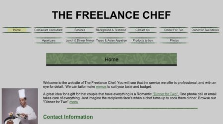 The Freelance Chef LLC.