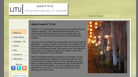 Leave It Us Wedding & Event Planning