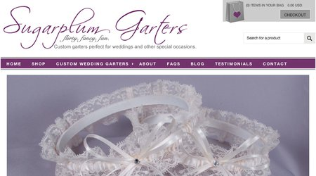 Sugarplum Garters