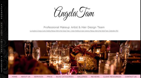 Angela Tam - Makeup Hair Design Team