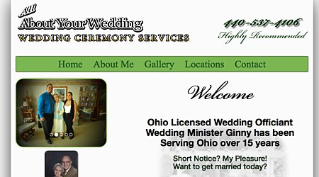 About Your Wedding