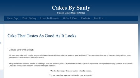 Cakes By Sauly