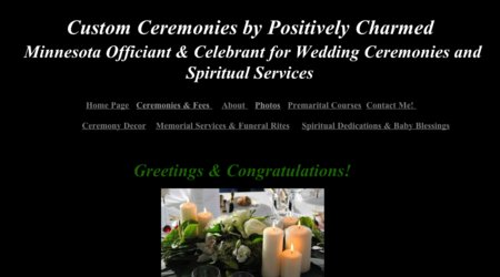 Custom Ceremonies by Positively Charmed