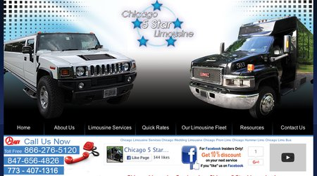 Chicago 5 Star Limousines,Inc.