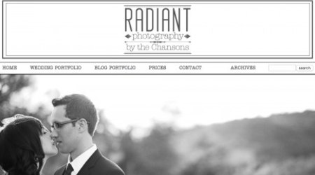 Radiant Photography by The Chansons