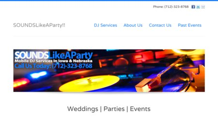 Sounds Like A Party!! Mobile DJ Service