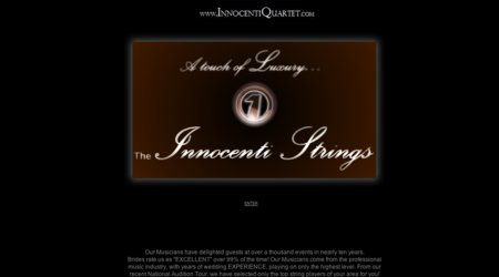 The Innocenti Strings