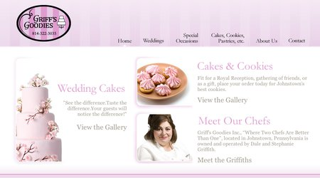 GRIFF'S GOODIES WEDDING CAKES & Cookies