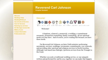 Reverend Carl Johnson