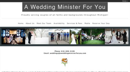 A Wedding Minister For You