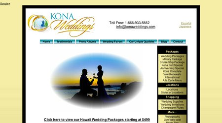 Kona Weddings