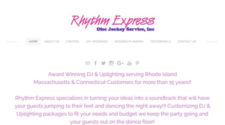 Rhythm Express Disc Jockey Service
