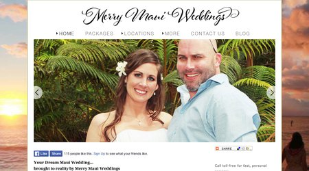 Merry Maui Weddings