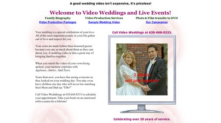 Video Weddings