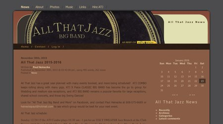 All That Jazz Big band