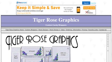 Tiger Rose Graphics