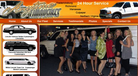 Anytime Limousines,LLC