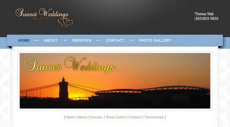 Sunset Weddings of the Tri State