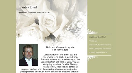 Patrick Byrd - Pro Dj and Event Host