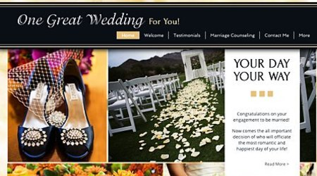 One Great Wedding for You