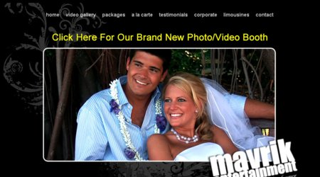 Mavrik Wedding Videography & Photo Booth