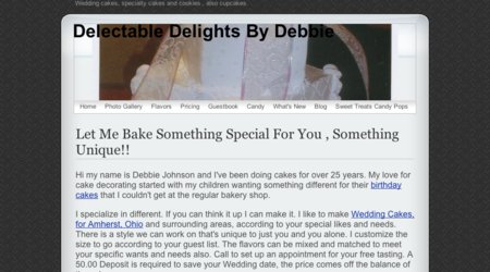 Delectable Delights By Debbie