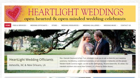 Heartlight Wedding Officiants