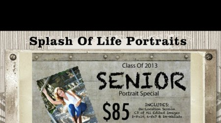 Splash Of Life Portraits