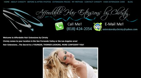 Affordable Hair Extensions By Christy