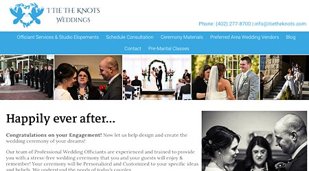 I Tie The Knots Professional Wedding Officiation