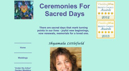 Ceremonies For Sacred Days