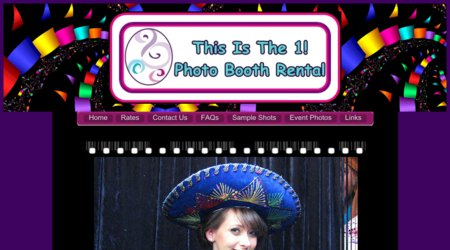 This is The 1! Photo Booth Rental