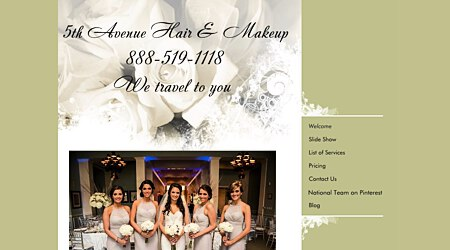 Fifth Avenue Mobile Wedding Hair Artistry & Makeup